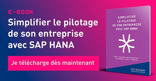 [E-BOOK] Simplifier le pilotage de votre entreprise avec SAP HANA